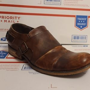 bed stu mens size 8 leather casual oxford